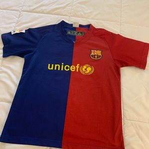 Barcelona Messi Soccerl Jersey (Men's L)